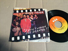 "FRANK ZAPPA - I DON'T WANNA GET DRAFTED / ANCIENT ARMAMENTS - 7"" SINGLE  (10)"