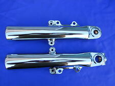 HARLEY TOURING CHROME FORK SLIDER LEGS 2014-2015, FLH MODELS  *** EXCHANGE***