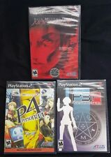 LOT of 3 Shin Megami Tensei Persona 3, persona 4, Nocturne Playstation 2 PS2