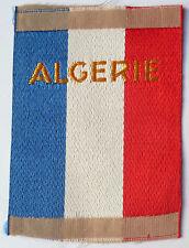 Insigne Tissu Patch UT ALGERIE Unités Territoriale AFN Police ORIGINAL France