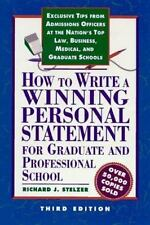 How to Write a Winning Personal Statement 3rd ed (How to Write a Winning Person