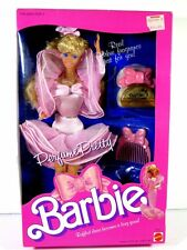 NIB BARBIE DOLL 1987 PERFUME PRETTY #1