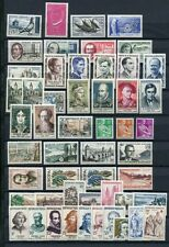 FRANCE 1957 MNH COMPLETE YEAR 52 Stamps
