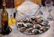 Caillebotte Gustave Still Life Oysters 5 A4 Print