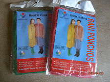 Rain ponchos/coats.NEW!!Great style.GREEN. Convenient! Disposable style! Pk: 10.