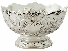 Sterling Silver Presentation Bowl by Charles Stuart Harris - Antique Victorian
