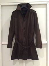 Prada Men's Brown Trench Coat Size 50