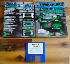 Jeu TABLE TENNIS SIMULATION version disc (Disk) pour PC AMIGA