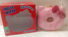 Sanrio Hello Kitty Jumbo Donut Squishy Slow Rising & Scented in Box Kawaii Japan
