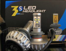 Car/Bike H7 Headlight Bulb Set, CREE LED 6500K Alpine White, Headlamp, Driving