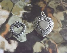 THAT SPECIAL LOVE 2 SWEETHEART HEART PENDANTS For a Gift All New.