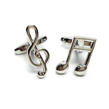 Silver Music Notes, Cufflinks (X2SJ011)