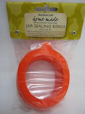 New Home Made Jars Silicone Sealing Rings Pickling Preserving Kilner Jars Pk10