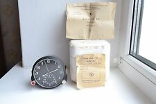 NEW! 60 ChP USSR Military AirForce Aircraft Cockpit Clock, S/N 92185