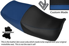 BLACK & ROYAL BLUE CUSTOM FITS YAMAHA XJR 1200 95-99 1300 98-01 DUAL SEAT COVER