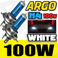 H4 XENON WHITE 100W 472 HEADLIGHT BULBS RENAULT EXTRA