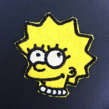 Lisa SIMPSONS Cartoon Appliques Embroidery Iron on Patch