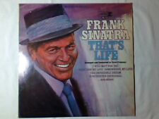 FRANK SINATRA That's life lp ITALY RARISSIMO GILBERT BECAUD MICHEL LEGRAND