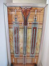 Glassmasters Frank Lloyd Wright Bradley House Skylight Stained Glass Panel