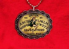 OUIJA BOARD WITCH PIN UP GIRL PSYCHIC GAME WICCA PENDANT NECKLACE