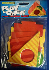 Play n Chew Cardboard Playground Slide Activity Toy Hamster Gerbil Mouse BNIP