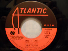 "Andy Taylor - Take It Easy / Angel Eyes 7"" 45 Record P-2154 Duran Duran"