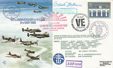 AC19aH 40th anniv ve day signé odette marie céline Hallowes gc, allied héroïne