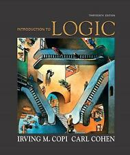 Introduction to Logic by Irving M. Copi and Carl Cohen (2009, Digital, Other)