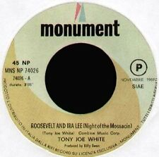 TONY JOE WHITE - Roosevelt And Ira Lee / The Migrant - MNS NP 74026 - Ita