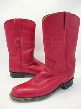 Justin Ladies L3055 Wild Red Roper Western Cowboy Boots, 6B MADE IN USA