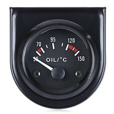 B744 Digital Mechanical Oil Temperature Gauge with Sensor for Car IFR