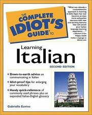 The Complete Idiot's Guide to Learning Italian-ExLibrary