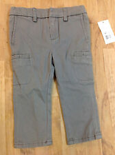 Vince Kids Cargo Trouser Pant (Infant), Gray, Size 12M