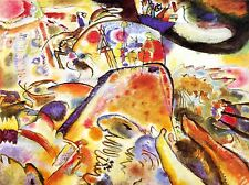 WASSILY KANDINSKY SMALL PLEASURES ABSTRACT OLD MASTER PAINTING PRINT 3046OMLV