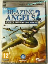 Jeu PC BLAZING ANGELS 2 Secret Missions of WWII 50 avions mythiques et zeppelins