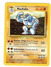Pokemon Base Machoke Uncommon 34/102 Near Mint - WOTC TCG