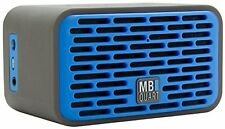 MB Quart QUB2.10201 Dual Driver Wireless Bluetooth Speaker - Blue