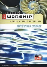 iWorship MPEG Video Library A-F DVD-ROM - Brand New