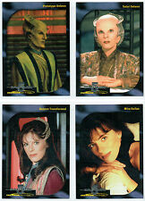 BABYLON 5 SPECIAL EDITION FACES OF DELENN SET OF 4