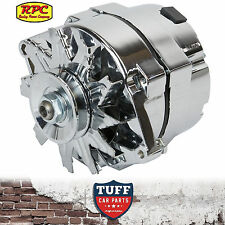 Holden HQ HJ HX HZ WB 253 308 V8 RPC Chrome Alternator 100 AMP Internal Reg New