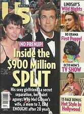 US Weekly magazine Mel Gibson Lindsay Lohan Bo Obama Octomom Hollywood style