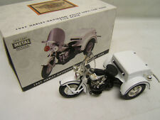 1947 Harley Davidson Police Servi-Car Bank Limited Edition Mint in Orig Box