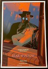Laurent Durieux REAR WINDOW Poster SIGNED Mondo Hitchcock Print North Birds Jaws