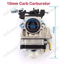 15mm Carburetor For 43cc 49cc X-treme Evo Skateboard GS Moon Scooter Pocket Bike