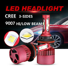 9007 HB5 252W 25200LM CREE LED Headlight Kit Bulb High Low Beam 6000K High Power
