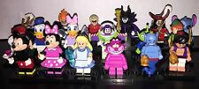 LEGO Minifigures 71012 Disney Series - Complete set of ALL 18 FIGURES!!! No
