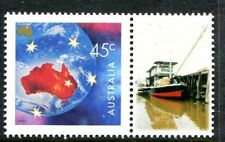 2000 Nature & Nation 50c Globe MUH With Personalised Tab - Tug Boat