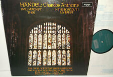 ZRG 766 Handel Chandos Anthems King's College Cambridge Choir Willcocks