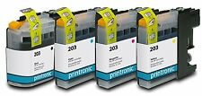 Ink Cartridge for Brother MFC-J4620DW Brother MFC-J4420DW Brother LC203 4 P