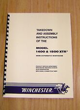 Winchester Models 1400 and 1500 XTR Takedown Manual  -  #W3